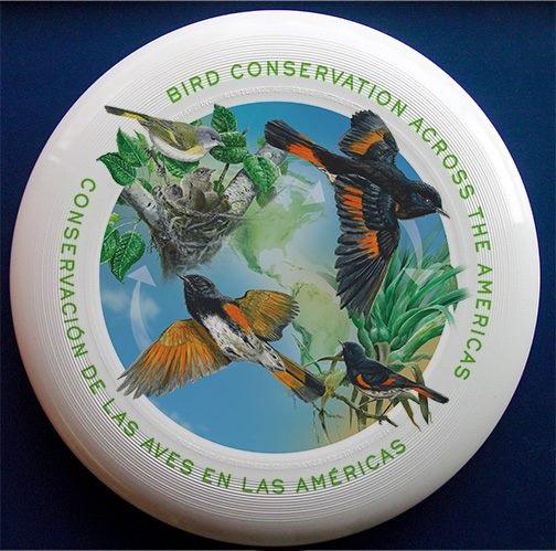 International Migratory Bird Day frisbee