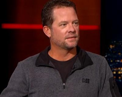 Chris Fischer interview on the Colbert Report