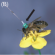 honeybee with harmonic tag