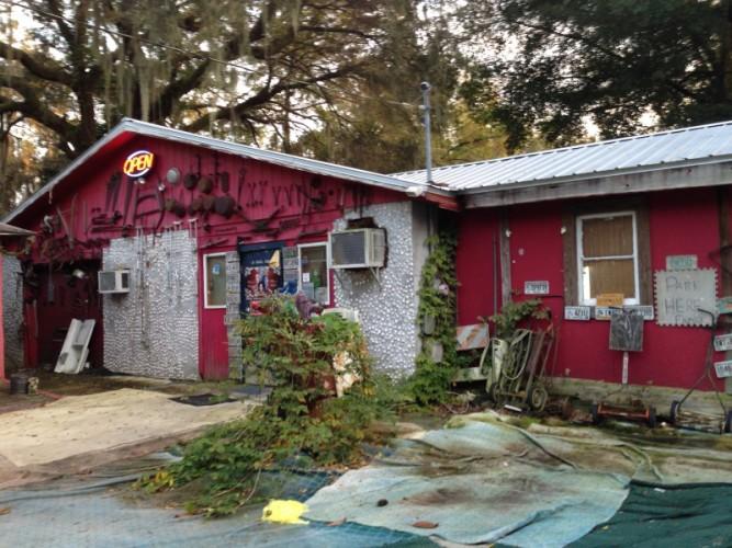 Old School Diner, Townsend, Georgia.