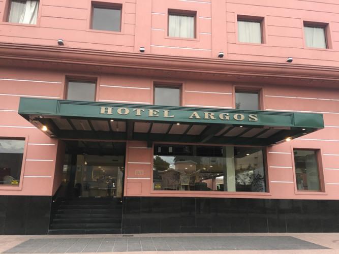A coincidence? Hotel Argos in Bahia Blanca, Argentina
